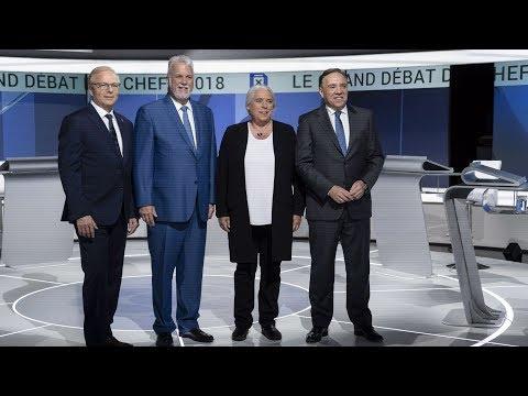 [Élections Québec] Le grand débat des chefs avec sous-titres