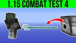 Minecraft 1.15 Combat Test Snapshot 4 : Snowballs Stack To 64 & Trident Loyalty In The Void!