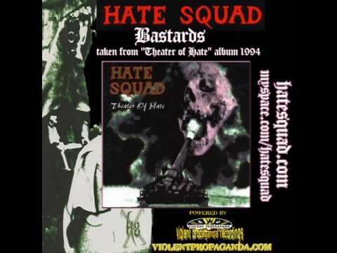 HATE SQUAD - Bastards (Theater of Hate - album 1994)