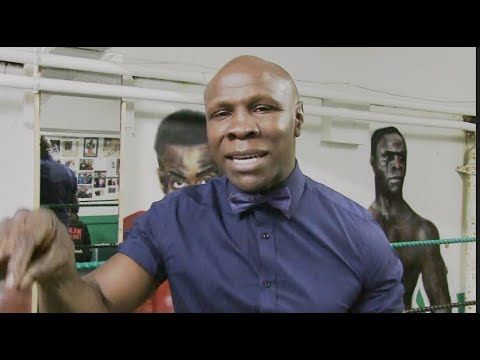 CHRIS EUBANK SNR - 'MY SON WILL BE A MULTI-MILLIONAIRE IN HIS NEXT 3 FIGHTS' / ISSUES WARNING TO REF