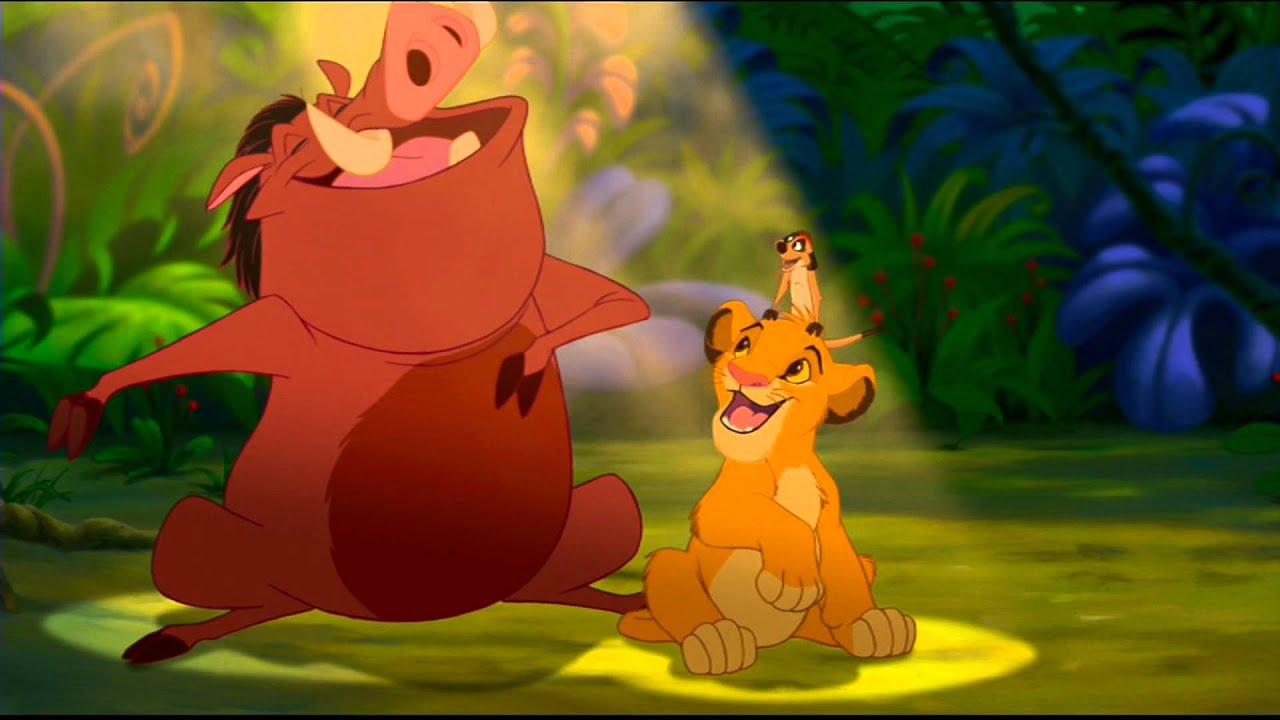 The Lion King Hakuna Matata Finnish Hd 1080p Blu Ray Youtube