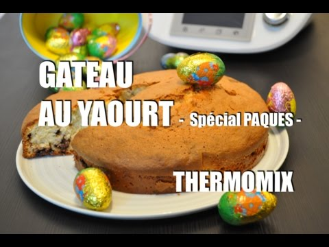 La recette du g teau au yaourt et au chocolat de p ques - Gateau au chocolat thermomix tm5 ...