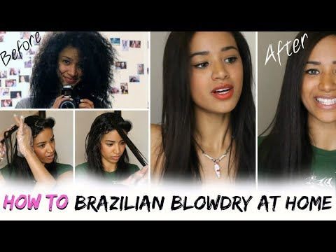 HOW TO: Brazilian Blowdry / Keratin Treat Your Hair At Home!