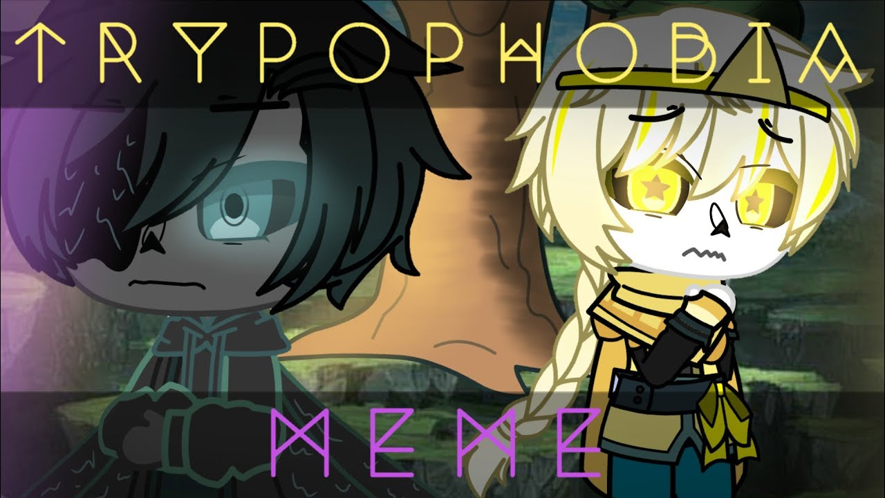 T R Y P O P H O B I A M E M E Dreamtale Brothers Angst Youtube Brother Anime Character