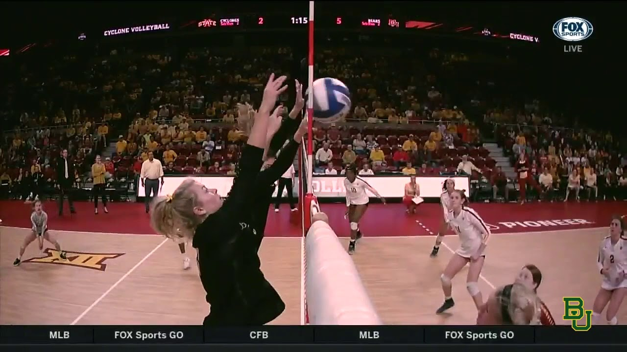 Baylor Volleyball: Highlights vs. Iowa State - YouTube