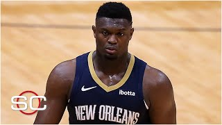 Zion Williamson is out indefinitely with a fractured finger | SportsCenter