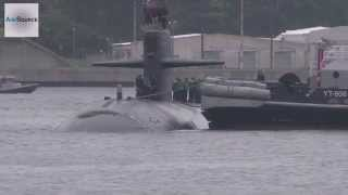 US Navy Attack Submarine Arrives in Japan
