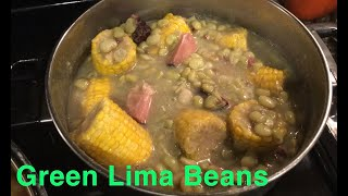 How to Make: Green Lima Beans