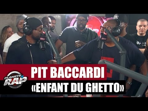 "Pit Baccardi ""Enfant du ghetto"" Feat. Jacky Brown #PlanèteRap"