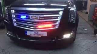 Cadillac ESCALADE 6.0 V8 siren cakar sistemi