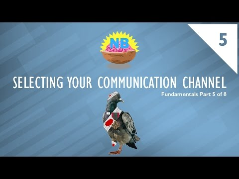 Selecting Your Communication Channel