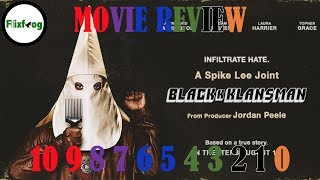 Movie Review - BlacKkKlansman