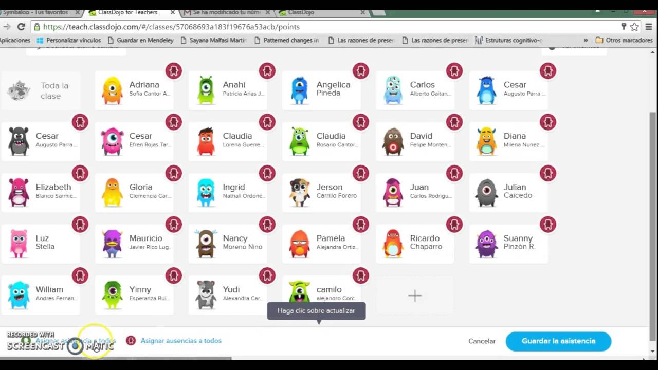 TUTORIAL CLASE CLASS DOJO  YouTube