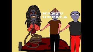 fim kartun hantu | hantu wanita buntung gentayangan | hantu menyeramkan | funny cartoon
