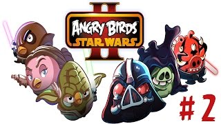 Angry Birds Star Wars 2 Android İOS PC Gameplay Walkthrough Hd 1080 PART 2
