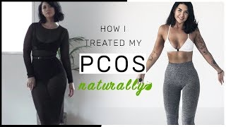 How I Treated My PCOS Naturally // Got my period back - No more acne
