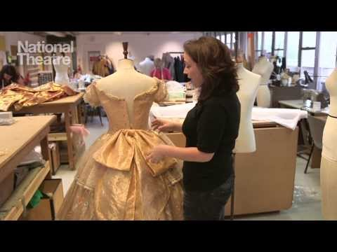 The Light Princess - creating Princess Althea's costume