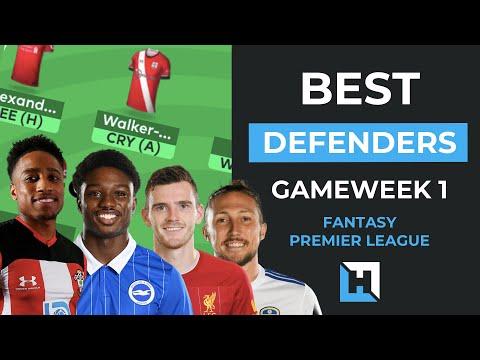 Best FPL Defenders TO OWN Gameweek 1 | Fantasy Premier League Tips 2020:2021 Season
