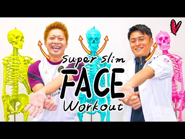 [100% slim face] Oriental exercise makes face twice as small by moving hands. 手を動かすだけで100%小顔になる!