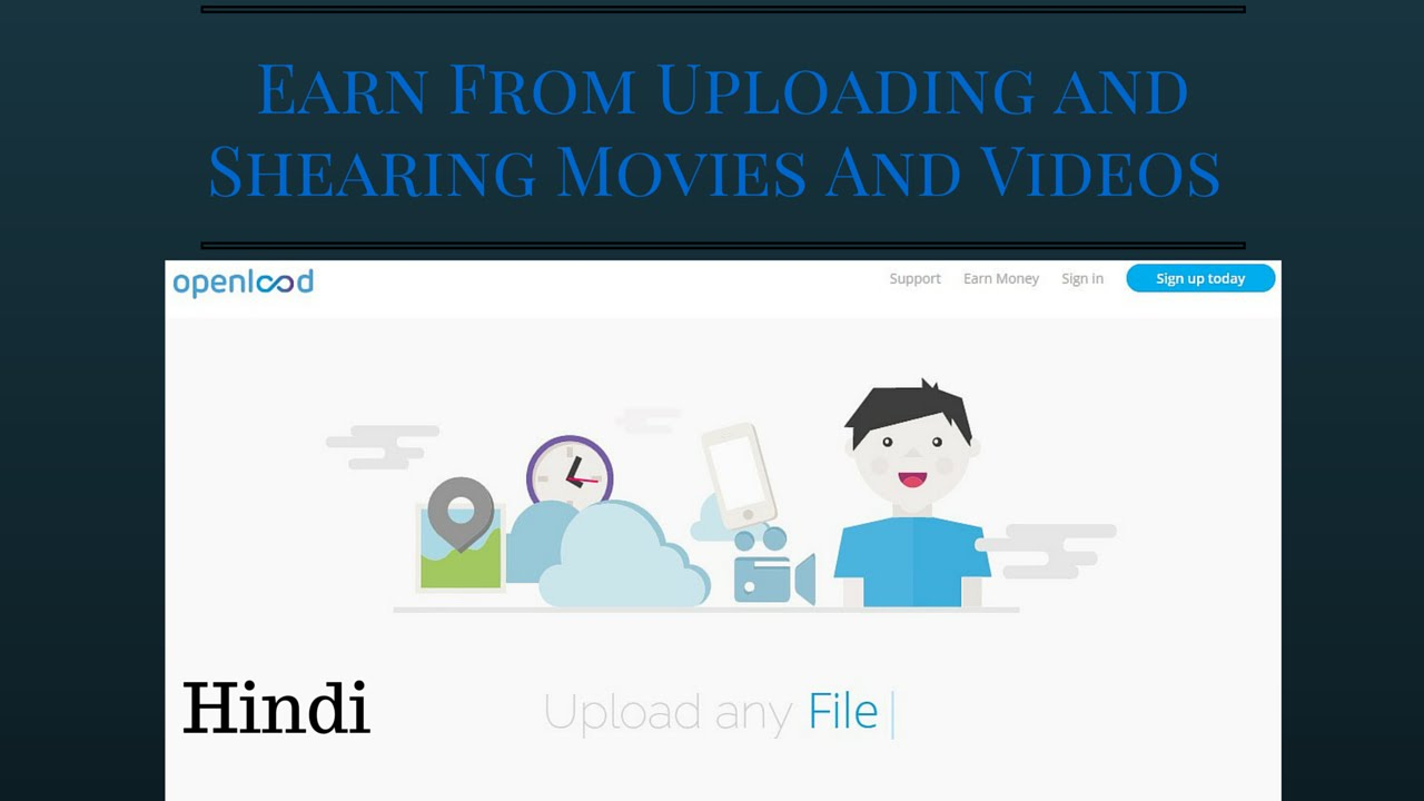 make a movie website and earn free upload and earn