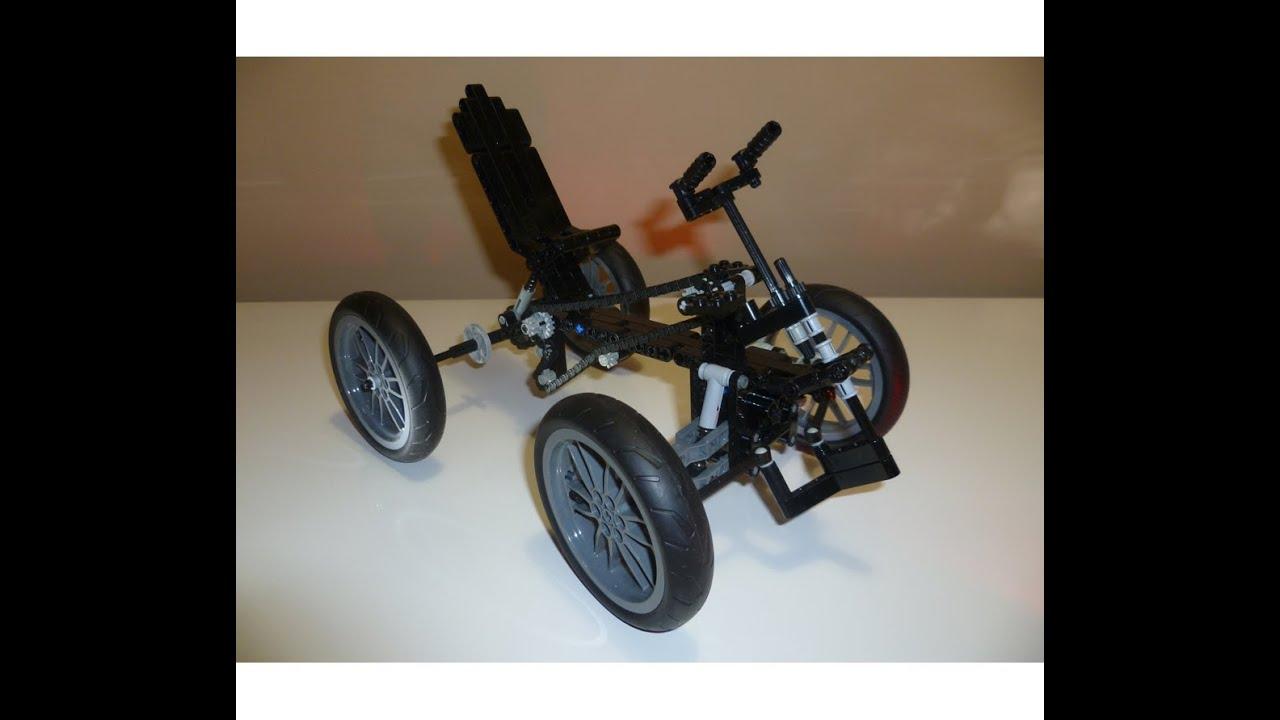 lego technic 4 wheeler quad bicycle moc youtube. Black Bedroom Furniture Sets. Home Design Ideas