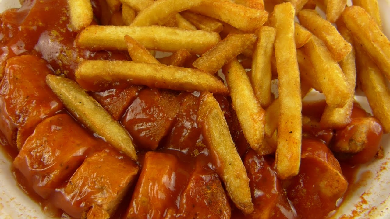2x berliner currywurst pommes fries youtube