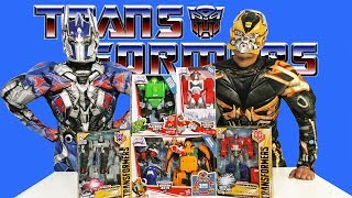 Transformers Toy Challenge - Optimus Prime Vs. Bumble Bee  !    Toy Review    Konas2002