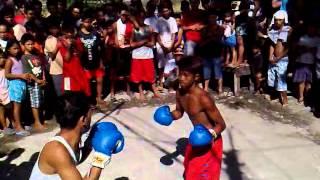 Boxing in Palingon Tipas Taguig. Fiesta 2013. Fiesta 2013. Mr White Vs Mr Red