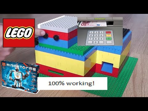 Lego Mindstorms NXT 2 0 Pinautomaat/ATM - Part 1 how it works - YouTube