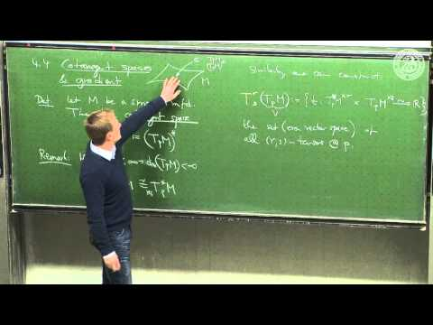 Construction of the tangent bundle - Lec 10 - Frederic Schuller
