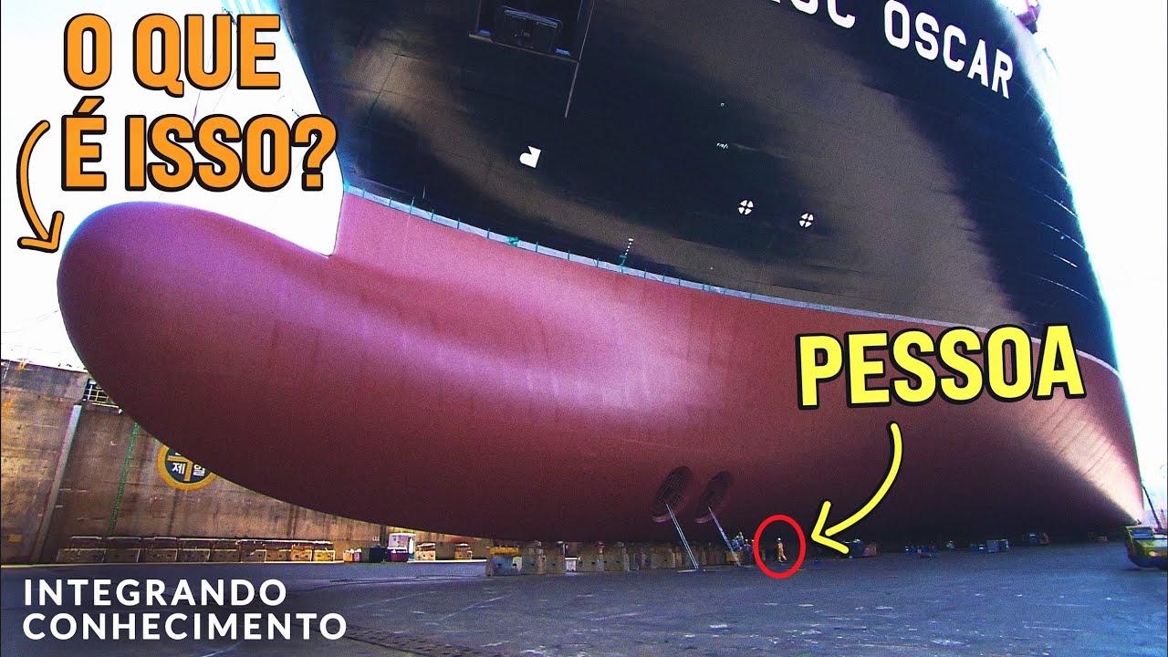 Por que tem isso no casco dos navios?