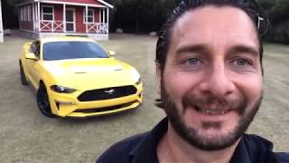 Ford Mustang EcoBoost 2018 - Detalles en vivo