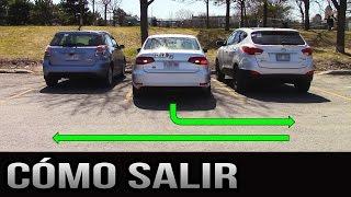 Cómo salir de un lugar de estacionamiento - 90 grados y paralelo