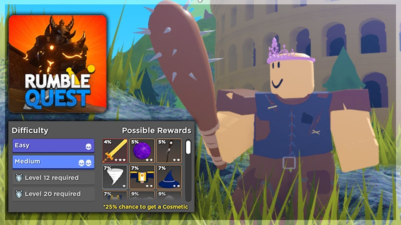 New Rpg Dungeon Crawler Game But Is It Good Roblox Rumble Quest - New Rpg Dungeon Crawler Game But Is It Good Roblox Rumble Quest