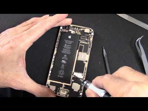 How to replace the battery on iphone 6s