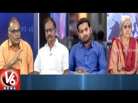 Special Debate On Hyderabad Areas Turn Ponds With Heavy Rains | 7PM Discussion | V6News