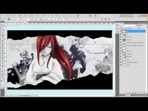 "》WallPaper Erza Scarlet ""Fairy Tail""《 -Tutorial- | Aimi Hiromi"