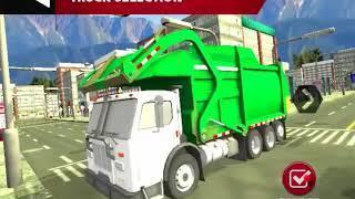 Real Garbage Truck Game Walkthrough Part 1