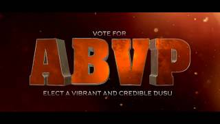 ABVP DUSU 2018 | Election Campaign Official Promo | VOTE SUPPORT ELECT