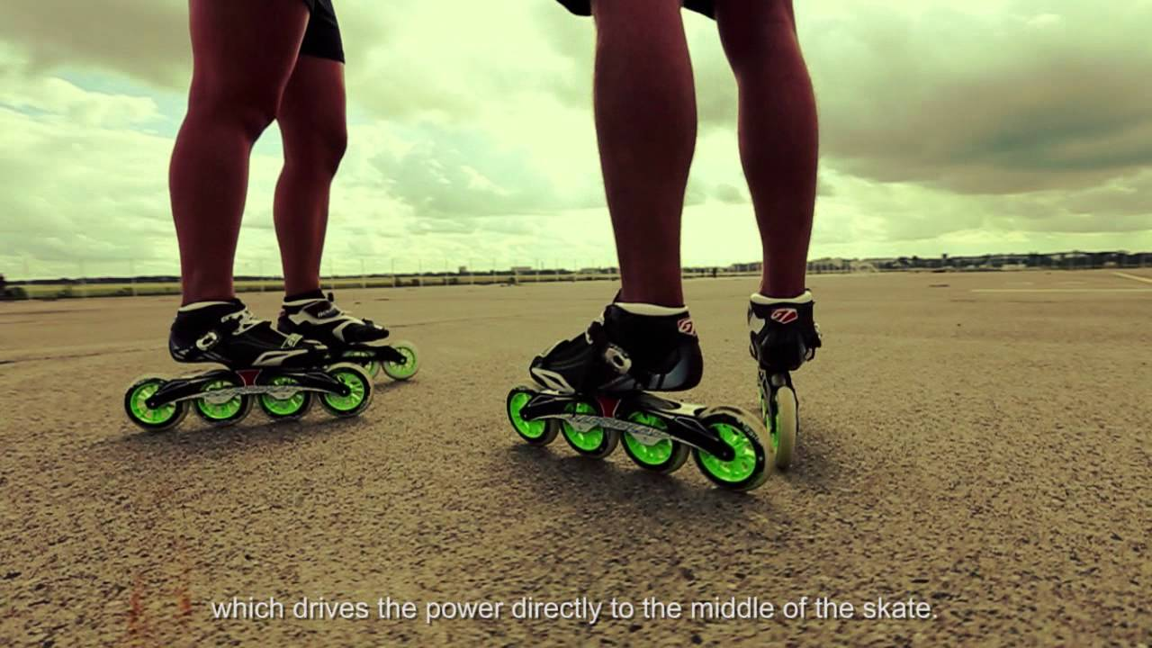 New Rollerblade Powerblade Gtr Presentation Youtube