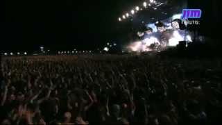 Rammstein - Wollt ihr das Bett in Flammen sehen? & Ich will - Rock Werchter 2013 - Proshot