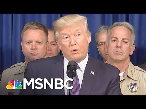 President Donald Trump's Puerto Rico Visit Leaves Behind Questions | The Last Word | MSNBC