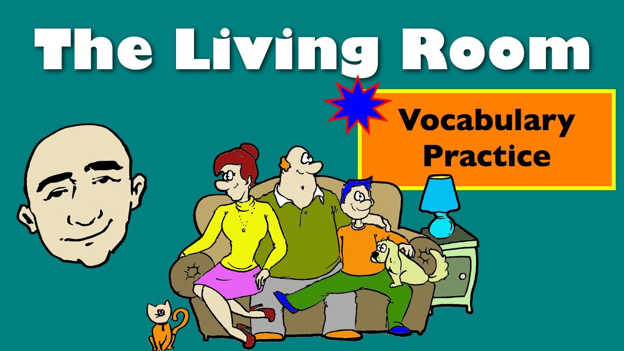 vocabulary living room the living room at home vocabulary speaking 10609
