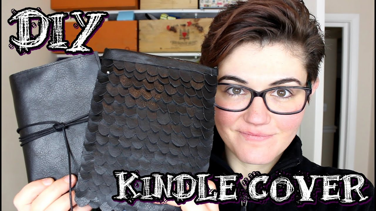 Diy Kindle Cover - YouTube
