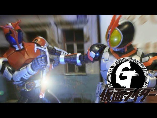 Stop Motion-Kamen Rider Faiz VS Kabuto 假面騎士Faiz VS Kabuto / 幪面超人555 VS甲鬥王