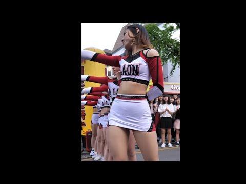 180505/ 치어리딩팀 [라온] 'action cheerleading cut' 직캠 /홍대버스킹ㅣLaon busking fancam