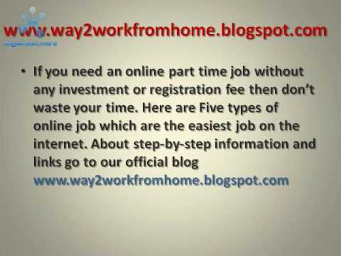 ONLINE JOB WITHOUT ANY INVESTMENT OR REGISTRATION FEE.avi