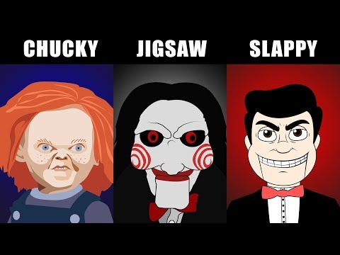 INTERVISTA TRIPLA 😈 CHUCKY vs JIGSAW vs SLAPPY