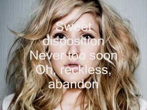 Ellie Goulding - Sweet Disposition (with lyrics on screen)