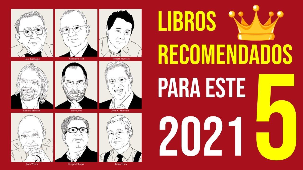 💪 Libros RECOMENDADOS para el 2021 (5 alternativas) I Emprender Simple